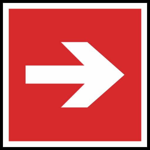 Знак F-01-01 «Направляющая стрелка»
