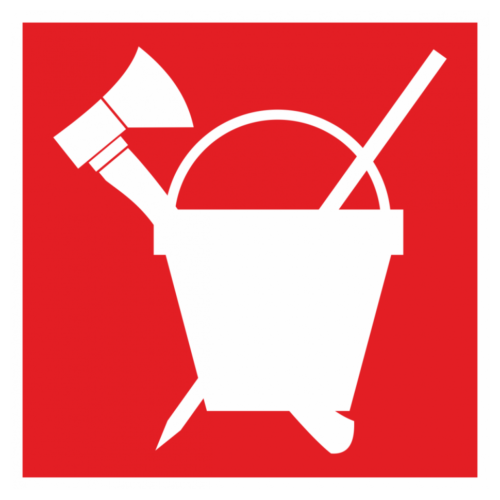 Знак «Пожарный инвентарь»