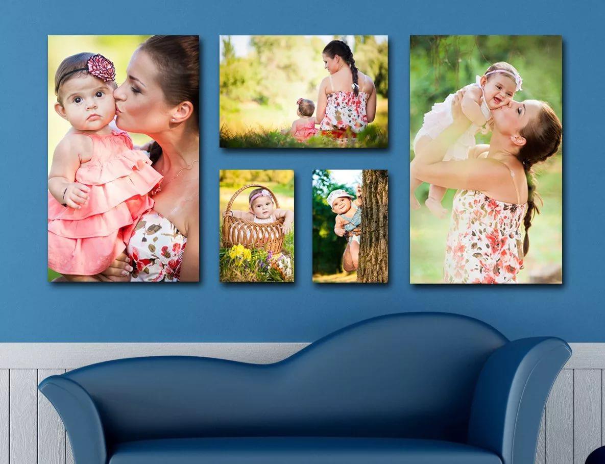люди, печать на холсте фотографий пример радостные моменты